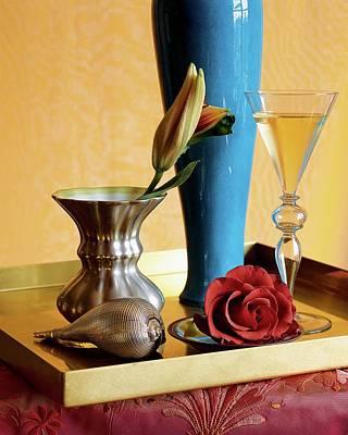 Silver Photograph - Home Accessories by Beatriz Da Costa