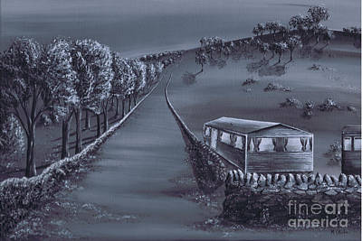 Painting - Home Road by Kenneth Clarke