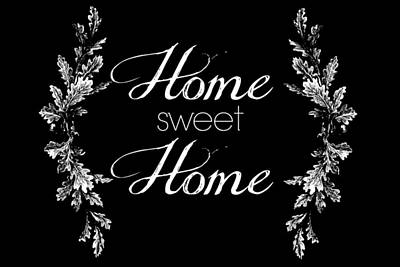 Home Sweet Home Art Print by Chastity Hoff