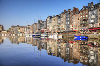 Photograph - Honfleur Normandy France by Colin and Linda McKie