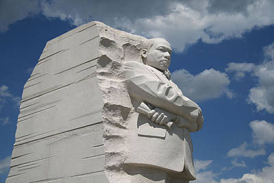Art Print featuring the photograph Honoring Martin Luther King by Cora Wandel