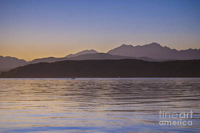 Photograph - Hood Canal Sunset by Susan Parish