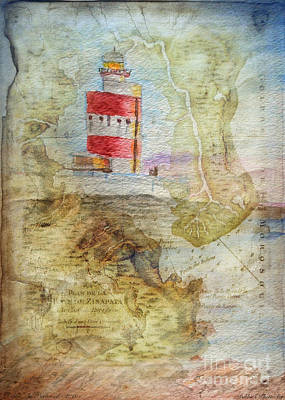 Mixed Media - Hookhead Lighthouse Ireland by Debbie Portwood