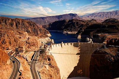 Photograph - Hoover Dam Nevada by Bob Pardue