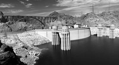 Photograph - Hoover Dam by Ricky Barnard