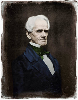 Photograph - Horace Mann (1796-1859) by Granger