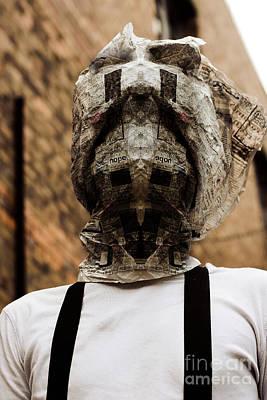 Charred Wall Art - Photograph - Horror News Head Lines by Jorgo Photography - Wall Art Gallery