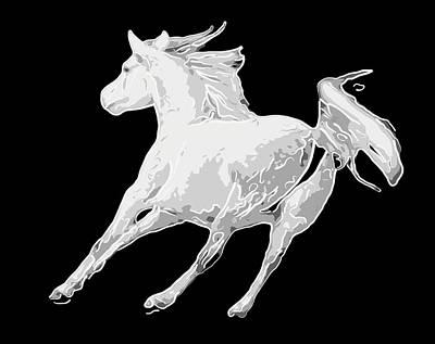 Horse Running In Joy  Original by Tommytechno Sweden