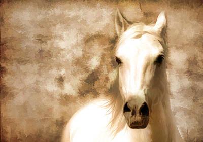 Horse Whisper Art Print by Athena Mckinzie