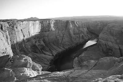 Photograph - Horseshoe Bend At Sunset by Robert  Moss
