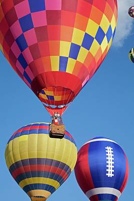 Hot Creek Photograph - Hot Air Balloon Championships by Jim West