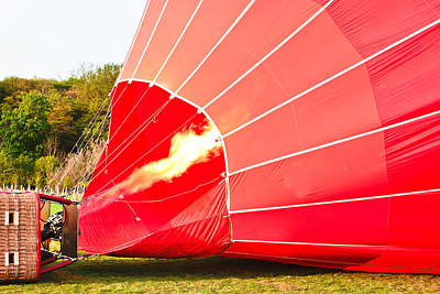 Propane Photograph - Hot Air Balloon by Tom Gowanlock