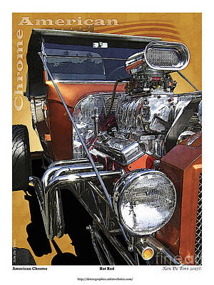 Photograph - Hot Rod by Kenneth De Tore