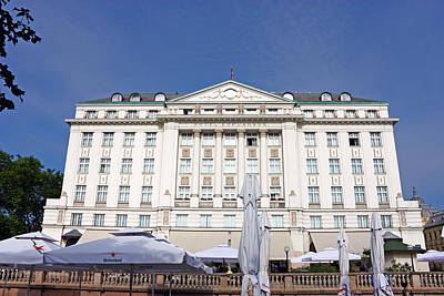 Photograph - Hotel Esplanade Zagreb by Borislav Marinic