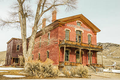 Photograph - Hotel Meade by Sue Smith