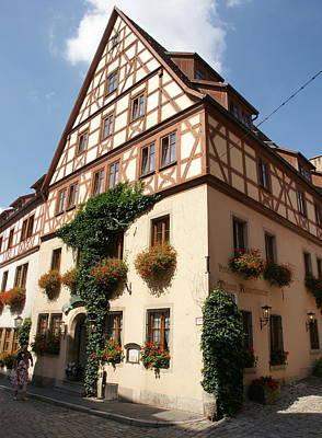 Photograph - Hotel Riemenschneider by Olaf Christian