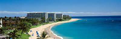 Kaanapali Beach Photograph - Hotels On The Beach, Kaanapali Beach by Panoramic Images