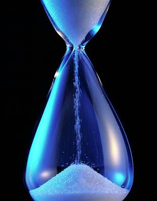 Hourglass Art Print by Sheila Terry/science Photo Library