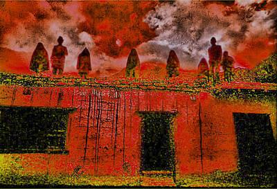 Nepal Photograph - House Builders by Serge Seymour