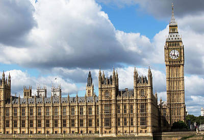 Barry Photograph - Houses Of Parliament by Mark Thomas