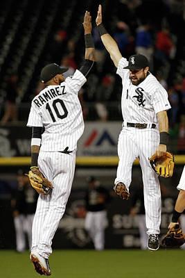 Photograph - Houston Astros V Chicago White Sox by Jon Durr