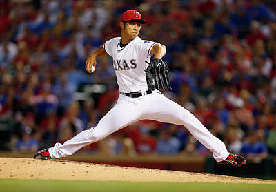 Photograph - Houston Astros V Texas Rangers by Tom Pennington
