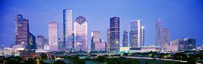 Houston, Texas, Usa Art Print by Panoramic Images