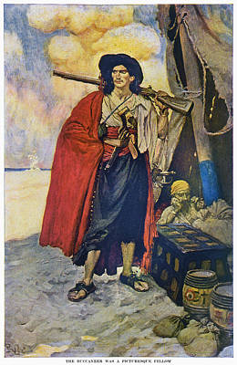 Howard Pyle Pirate Print by Granger