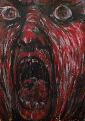 Love Making Painting - Howling by Safir  Rifas