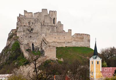 Photograph - Hrad Beckov - Castle by Les Palenik