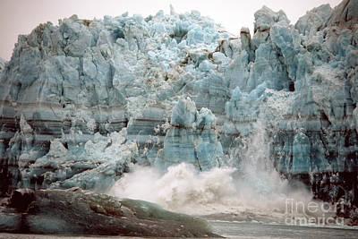 Hubbard Glacier 1986 Art Print by Mark Newman