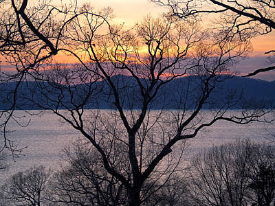 Photograph - Hudson River Sunset by Marianne Campolongo
