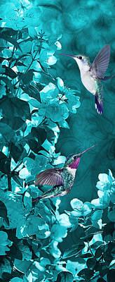 Photograph - Hummingbird Nostalgia by Leda Robertson