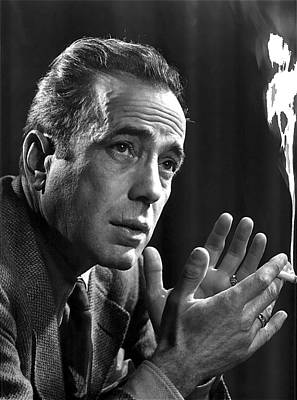 Humphrey Bogart Portrait 2 Karsh Photo Circa 1954-2014 Art Print by David Lee Guss