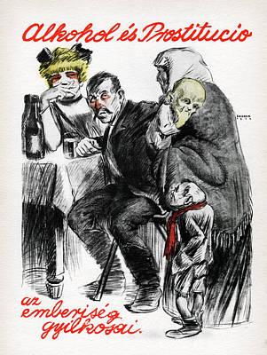 Propaganda Photograph - Hungarian Communist Propaganda Poster by Cci Archives
