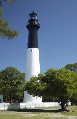 Photograph - Hunting Island Lighthouse Sc by Bob Pardue