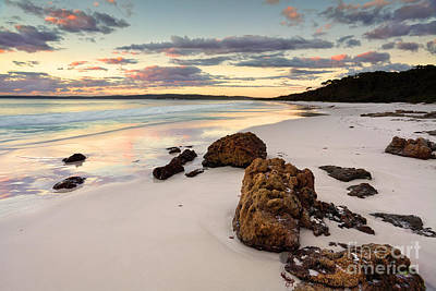 Jervis Photograph - Hyams Beach Sunrise Nsw Australia by Leah-Anne Thompson