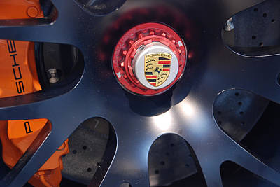 Hybrid Wheel  Art Print by John Schneider