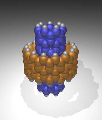 Hydrocarbon-based Nanotechnology Art Print by Scott Camazine