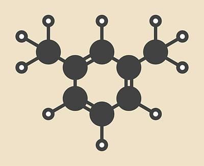 Meta Photograph - Hydrocarbon Molecule by Molekuul