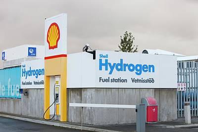 Hydrogen Filling Station Print by Ashley Cooper