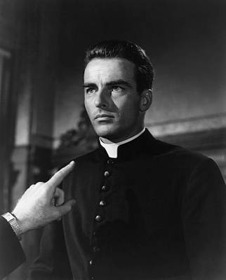 Films By Alfred Hitchcock Photograph - I Confess, Montgomery Clift, 1953 by Everett