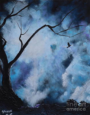 Trees Painting - I Shall Find It by Stefan Duncan