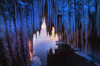 Ice-t Photograph - Ice Cave by Phil Koch