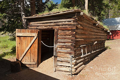 Photograph - Ice House At The Holzwarth Historic Site by Fred Stearns