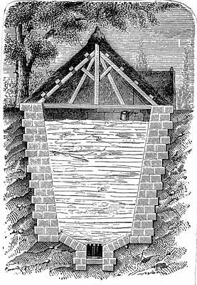 1874 Photograph - Ice-house by Universal History Archive/uig
