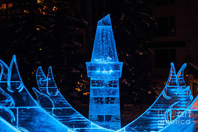 Photograph - Ice Tower by Franz Zarda