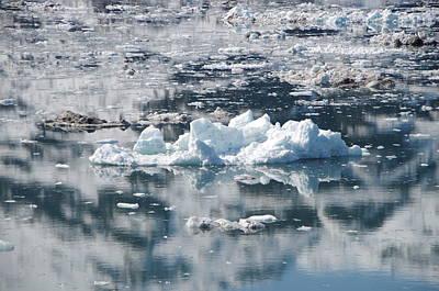 Photograph - Iceberg In Glacier Bay Alaska by Marilyn Wilson