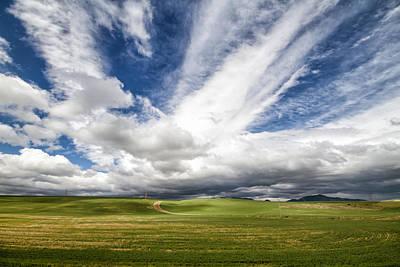 Idaho Sky Art Print