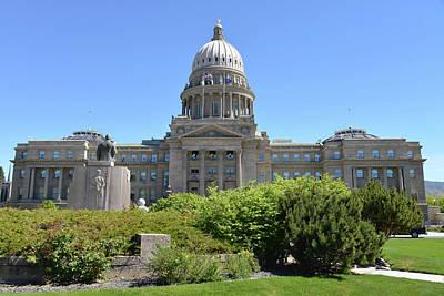 Reynolds Photograph - Idaho State Capitol, Boise, Idaho, Usa by Gerry Reynolds